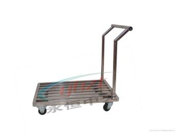 不锈钢手推车 桶车 槽车 消毒车 盘架车天津永恒中天不锈钢制品系列