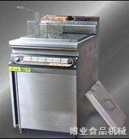 博业单缸双筛立式电炸炉BY-86