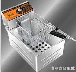 博業單缸單篩電熱炸爐BY-81