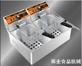 博业双缸双筛电热炸炉BY-82