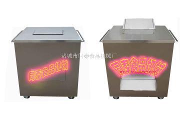 泡椒猪皮切条机,泡椒猪皮切肉机