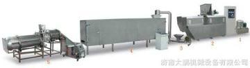 65型鱼饲料膨化机设备生产线