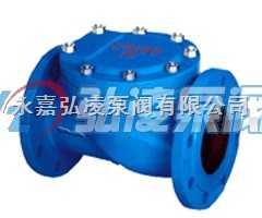 止回阀价格:HC44X-10-1橡胶瓣止回阀