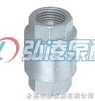 止回阀:H12W-16P/R不锈钢内螺纹止回阀