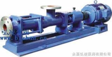 GF型GF型不锈钢单螺杆泵