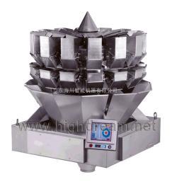 海川低噪音14斗组合秤低噪音食品分装机\休闲食品电子组合称