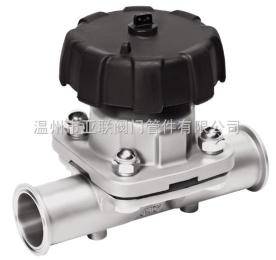 GEMU盖米气动隔膜阀卫生级抛光型卡箍快装法兰气动隔膜阀