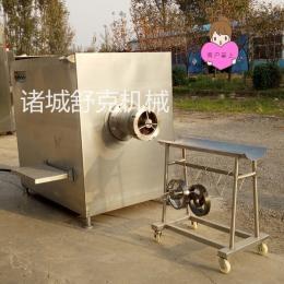 SJR-D160破碎绞肉机连续式冻肉绞切机设备