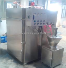 SYX-500果木豆干煙熏爐 清真香腸煙熏爐