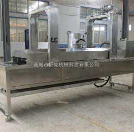 SDY-3500狮子头油炸生产线 肉丸油炸生产配套设备