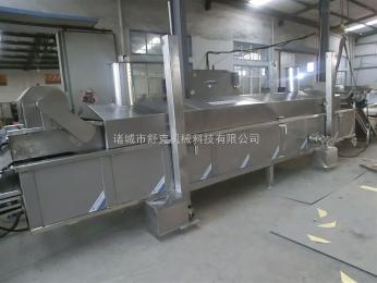 SDY-L4000青豆油炸生产线 蚕豆豌豆全自动油炸机