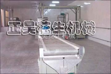 ZH-JX花生油炸生产线/油炸线设备/花生米油炸线报价