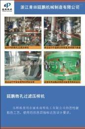 DJG—10微孔精密无剩液过滤—浙江青田瓯鹏机械制造