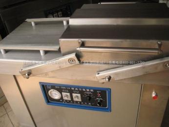 400豐匯專業制造400雙室豆制品真空包裝機