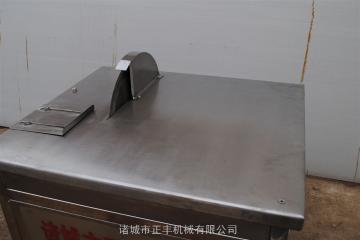不銹鋼牛蹄分段機特點