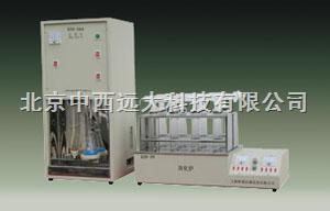 CN61M/KDN-04A定氮仪/快速蛋白质测定仪(4孔消化器)