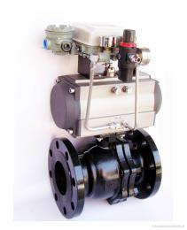 VQ647F气动V型球阀【产品概述】气动调节球阀