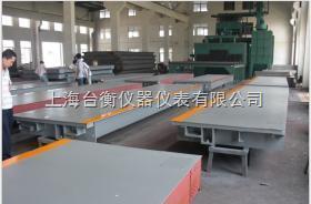 SCS上海电子汽车衡厂家,出口式汽车衡价格,出口式电子地磅价格