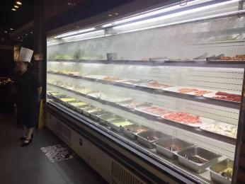 GLF-2超市立式水果风幕柜