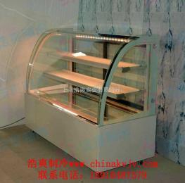 杭州 面包保温展示柜,