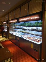 豪华款自助点菜展示柜 豪华款自助点菜展示柜