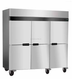 1810ZFL6商用酒店厨房不锈钢六门风冷冰箱