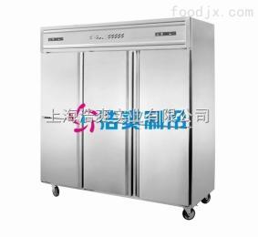 商用酒店厨房不锈钢六门风冷冰箱