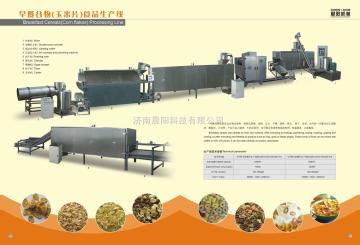 早餐谷物生產機械