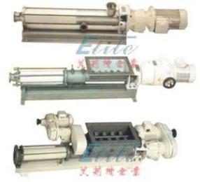 GF/TGF/TSGF型卫生级螺杆泵