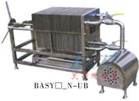 BASY型不锈钢板框过滤机