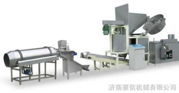 SX3000-100螺旋贝壳豌豆脆膨化食品生产线