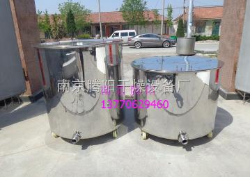 TY-DJ-500L符合GMP标准恒温电加热药液搅拌反应釜