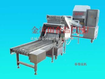 購買制作春卷皮的機器到金河田機械廠