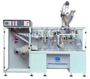 DXD-130B型(粉剂,溶剂)全自动智能化水平式合膜袋装包装机