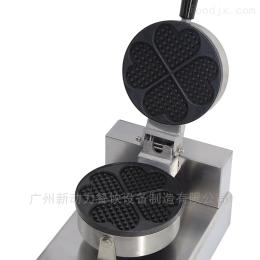 NP-609單頭心形華夫爐格仔餅機烤餅機小吃設備