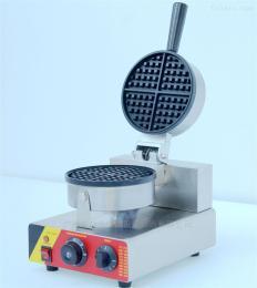 NP-599格子餅機單頭華夫爐格仔餅機烤松餅機