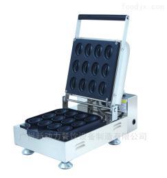 NP-99商用咖啡豆形松饼机烘烤炉华夫饼机小吃设备