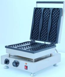 NP-484商用华夫炉长条华夫饼夹馅华夫烤饼小吃设备