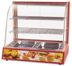 NP-645多功能保温展示柜,小吃保温柜,汉堡保温展示柜,商用食品保温柜