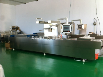 DLZ-520全自动拉伸膜真空包装机