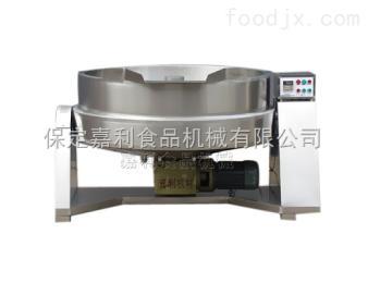 可倾式下搅拌炒锅厂家(嘉利食品机械)