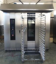 HQ-100型40盘40盘底部转盘薄饼旋转炉热风循环旋转烤箱