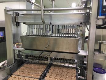 扁平棒棒糖浇注生产线 全自动糖果机械