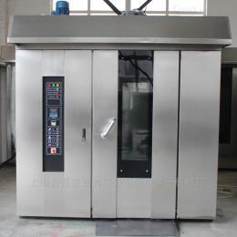 HQ-100型32盤全自動餅干機熱風旋轉爐 食品烘烤設備