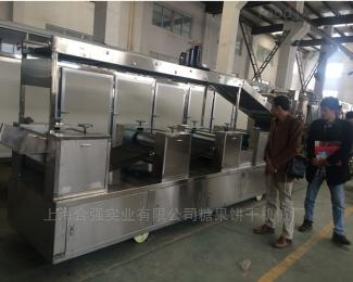 HQ225-1200型餅干機、餅干成型機、餅干烘烤爐、噴油機