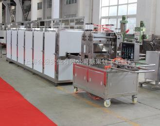 小型梨膏硬糖浇注机 小型梨膏棒棒糖生产线 上海合强实验室糖果成型机