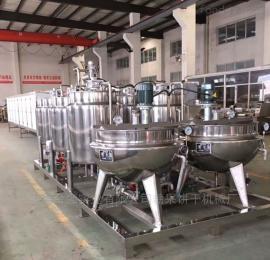 上海合强供应HQ-150~600全自动酸枣奶酪棒浇注生产线