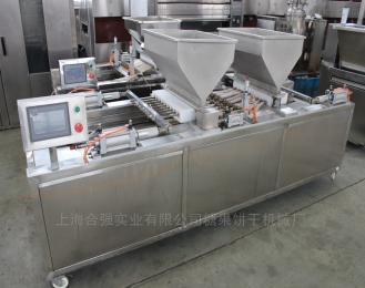 双排蛋糕成型机 蛋糕加工设备 全自动蛋糕生产线 上海双色蛋糕机