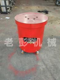 07-L-J老彭机械燃气式立式炒栗子机