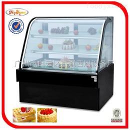 CW-1200/HW-1200豪华落地式双圆弧蛋糕展示柜